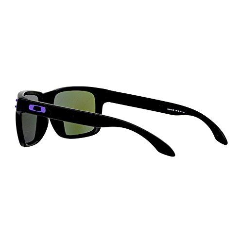 Oakley Lunettes de soleil Holbrook OO9102 - 910226: Matte Black / Julian Wilson Signature
