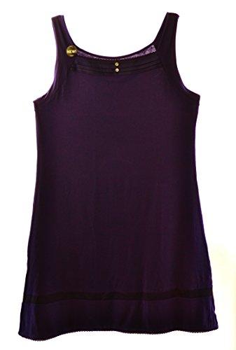 (Vanity Fair Modal Sleeveless Nightgown (XL, Ink))