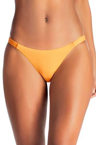 Vitamin A Women's Carmen Brazilian Bikini Bottom Sunflower Ecorib 10