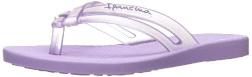 Ipanema Girls' Hashtag Flip-Flop, Lilac, 2/3 M US Little Kid -