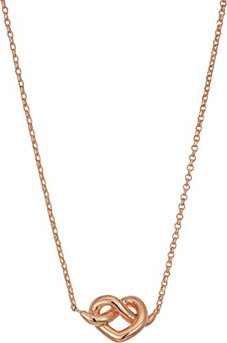 Kate Spade New York Women's Loves Me Knot Mini Pendant Rose Gold One Size (Gold Rose Pendant Necklace)