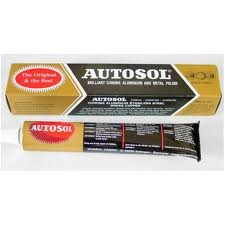 autosol chrome polish metal aluminium cleaner 75ml. Black Bedroom Furniture Sets. Home Design Ideas