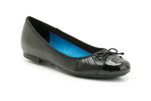 Ladies Clarks Ballerina Style Shoes Boutique Shop Black