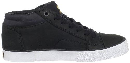 Emerica HSU 2 FUSION 6102000064 - Zapatillas de ante unisex Negro (Schwarz/Black/Gold)