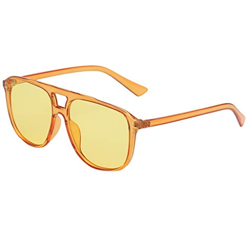 iNoDoZ Fashion Sunglasses for Women Men Stylish Plastic Frame Durable Glasses Vintage Retro Style
