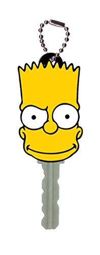 Fox Bart Simpson Key Holder Key Ring (Simpsons Key Rings)