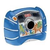 Fisher-Price Kid-Tough Digital Camera Blue + Bonus: 8 Starter Batteries