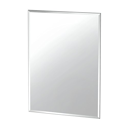 Gatco 1802 Flush Mount Frameless Rectangle Mirror, - Bathroom Frame After Mirrors Before And
