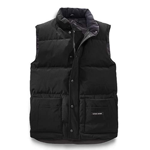 Duck Down Vest - Men's Canada Freestyle Crew Duck Down Vest Black (XL)
