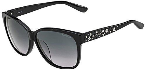c0e88b312e6 Jimmy Choo Sunglasses Women CHANTY S 29AHD Black Full Frame  Amazon ...