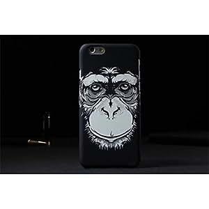 """WQQ nuevo rey de la serie de los bosques 2 luminoso teléfono móvil shell protección caso 4.7 """"PC para el iphone 6 , Black"""