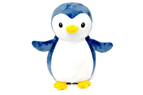 THE#TOY - Penguin Plush Stuffed Animal Plush Toy Gifts for Kids Cuddlekins 7 inches (Blue 10.6 in)