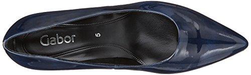 Tacco Blu Scarpe Gabor Fashion Donna Marine con q4z41Zf