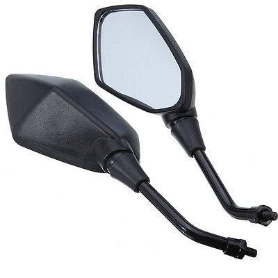 FidgetKute R/étroviseur Droit Gauche pour Z1000 2003-2011 Z750 04-11 Noir