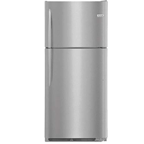 Frigidaire FGTR2037TF 30 Inch Freestanding Top Freezer Refrigerator with 20.4 cu. ft. Total Capacity, in Stainless Steel - Freestanding Top Freezer Freezer