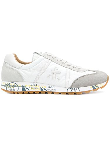outlet classic sale collections PREMIATA Men's LUCY3134 White Leather Sneakers cheap countdown package discount 100% authentic sale footlocker cBwkTnbr