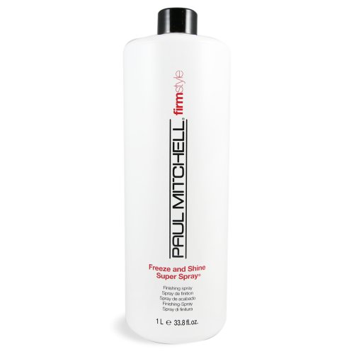 Freeze Super Hold Spray - Paul Mitchell Freeze and Shine Spray, 33.8 Ounce