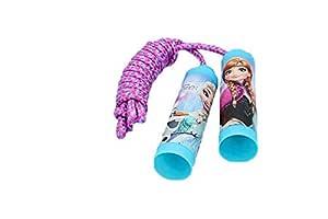 ALMACENESADAN 2573; comba Disney Frozen; Cuerda para Saltar; Ideal para cumpleaños y Fiestas.
