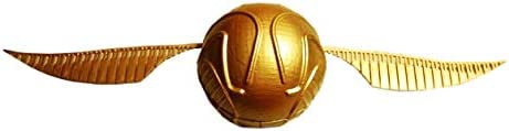 Golden Snitch Porta Anel Harry Potter Pomo De Ouro (Dourado Com Asas Douradas)