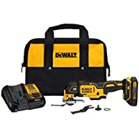 DeWalt XR 2-Piece Cordless 20-volt Max Brushless Oscillating Tool Kit (1 Battery Included)
