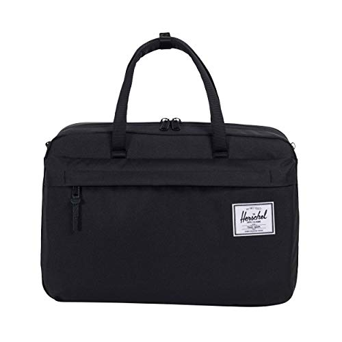 (Herschel Bowen S Duffel Bag BLACK One)