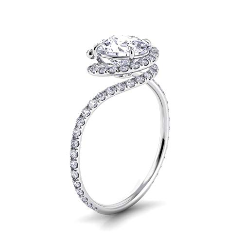 Arabelle & Co. Award Winning Eternity Engagement Ring (8)