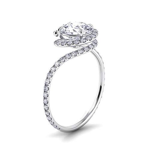 Arabelle & Co. Award Winning Eternity Engagement Ring -