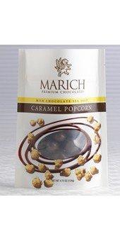 Marich Milk Chocolate Sea Salt Caramel Popcorn 4.75 Ounce ()
