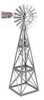 Big Country Toys Aermotor Windmill - 1:20 Scale - Farm Toys - Ranch Toys - Replica Aermotor Windmill Toy