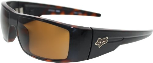Fox The Condition Polished Black Brown Tortoise Fade Sunglasses by Fox