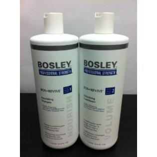 BOSLEY BOS REVIVE shampooing et le revitalisant Set Liter 33,8 oz Visible Thining Non cheveux colorés