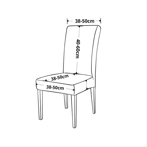 BJDKF Chair cover Printing covers universal size Chair cover seat Chair Covers Protector Seat Slipcovers for Hotel banquet home wedding decoration