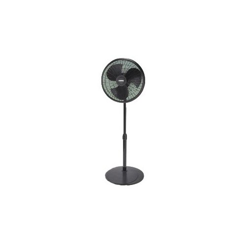 Lasko Products, 16 Pedestal Fan Black (Catalog Category: Indoor/Outdoor Living / Fans & Air Conditioners)