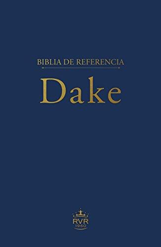 Biblia de referencia Dake RVR60 (Spanish Edition)