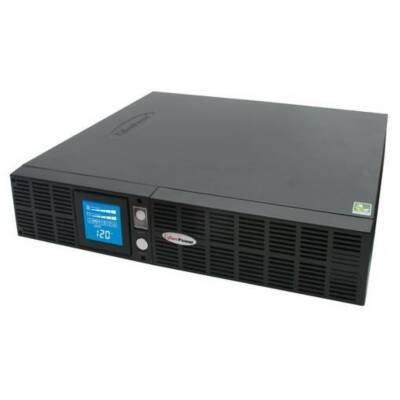 CyberPower PFC Adaptive Sinewave Smart App OR1500PFCRT2U 1500VA LCD RT UPS - (Ups 8 Minute Full Load)
