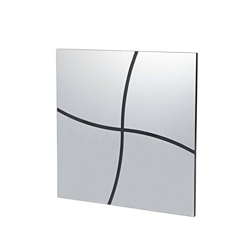 Furniture of America Froelich Accent Mirror in Black