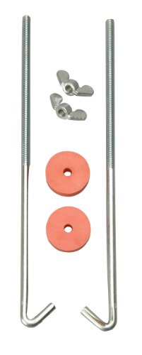Road Power 966-10 General Motors J Hook Battery Hold down bolts, 2-Pack, Chrome, (Battery Hold Down Frame)