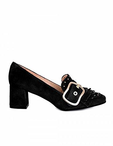 Mocasines Tacón Negros PERA LIMONERA - Color - Negro, Talla Zapatos Mujer - 37: Amazon.es: Zapatos y complementos