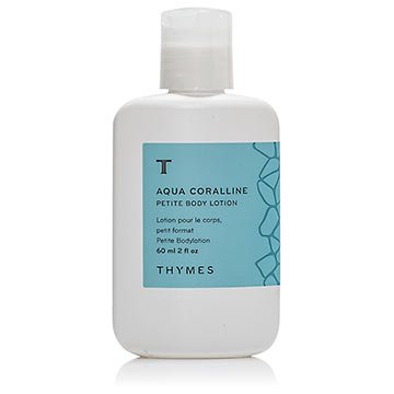 Thymes Aqua Corralline Body Lotion 2 Ounce