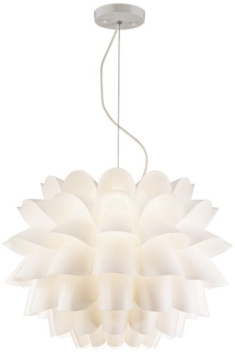 Possini Euro Design White Flower Pendant Chandelier Amazoncom