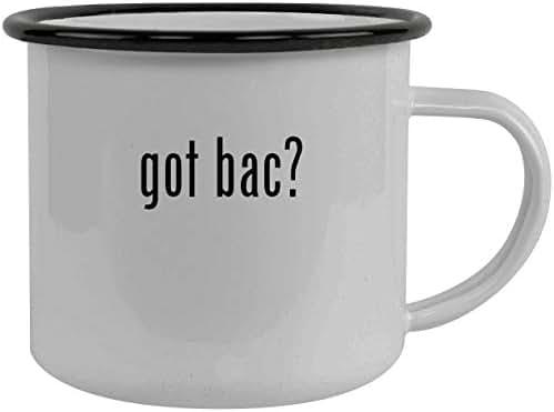 got bac? - Stainless Steel 12oz Camping Mug, Black