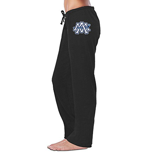 fan products of Ice Hockey Team Bones Logo Milwaukee Admirals Open-Bottom Pant Designed For Women