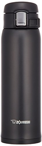 Zojirushi Japan SM-SA48-BA Stainless Steel Mug Light weight Bottle 480ml Black