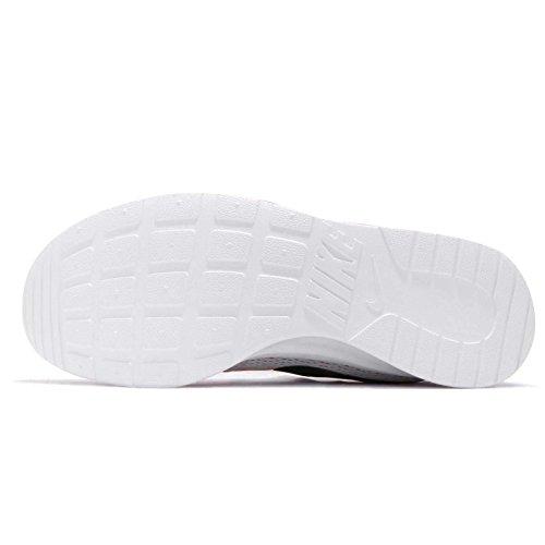 Zapatillas De Deporte Nike Tanjun Hombres, Parte Superior Textil Transpirable Y Cómodo De Hueso Ligera Amortiguación Ligera / Negro-blanco