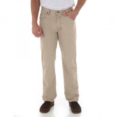 Wrangler Classic Fit 36 in. x 38 in. Men's Wrangler Rugged Wear (Wrangler 36 Inch)