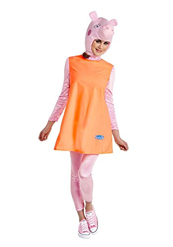 Peppa Pig Mummy Pig Adult Costume, X-Large (Peppa Pig Adult Costume)