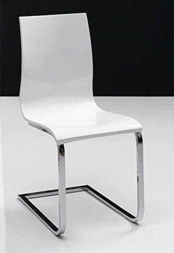 Générique Lot chaises Blanc de Laque Beverly Hills 2 xBeWCorQdE