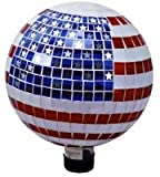 Very Cool Stuff GLMSS10 10'' Stars & Stripes Gazing Globe