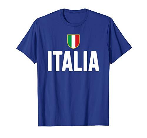 Italy Flag T-shirt - ITALIA T-Shirt Italian Pride Italy Flag Italiana Gift Roots