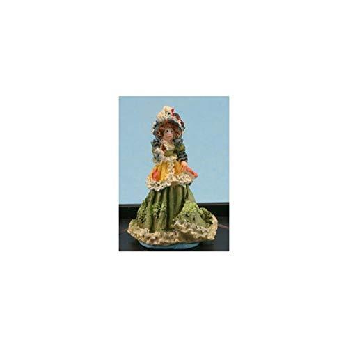 Dollhouse Miniature Victorian Lady Figurine (antique -